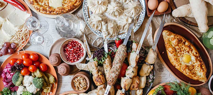 هزینه غذا و رستوران در گرجستان
