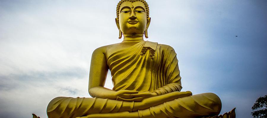 مجسمه بودا در تایلند
