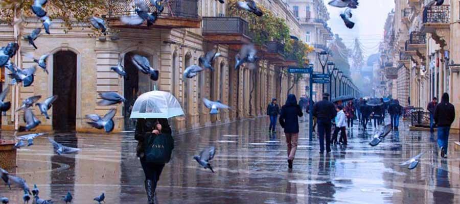 آب و هوای باکو