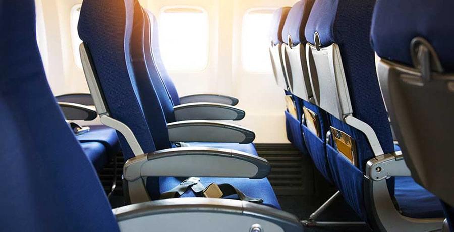 صندلی های میانی، شلوغ ترین قسمت هواپیما هستند