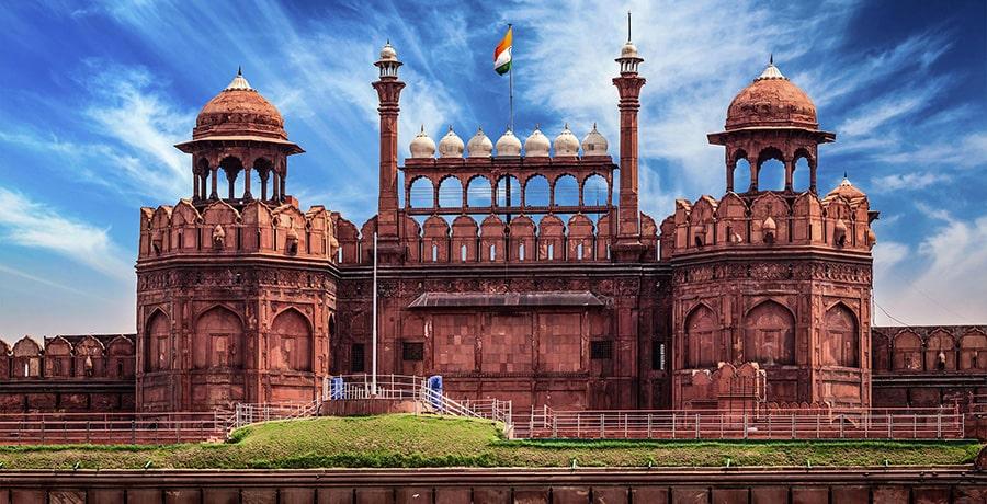قلعه سرخ هند از آثار دیدنی و تاریخی هندوستان