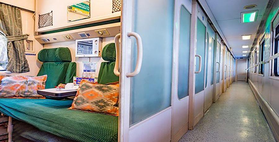 بهترین قطار اصفهان مشهد