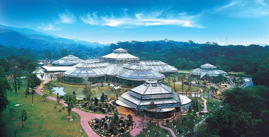 باغ گیاه شناسی گوانجو، بزرگترین باغ گیاه شناسی شمال شرق گوانجو
