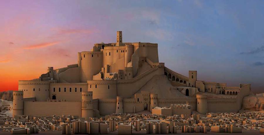 ارگ تاریخی بم، بزرگترین سازه خشتی دنیا