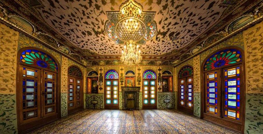 تصویری از کاخ گلستان در فهرست آثار تاریخ یونسکو