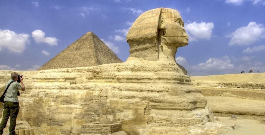 مجسمه بزرگ ابوالهول، یکپارچه ترین مجسمه دنیا