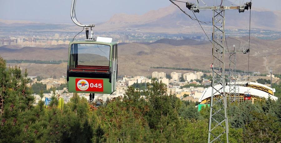 تله کابین صفه، فرصتی بی نظیر بر فراز آسمان اصفهان