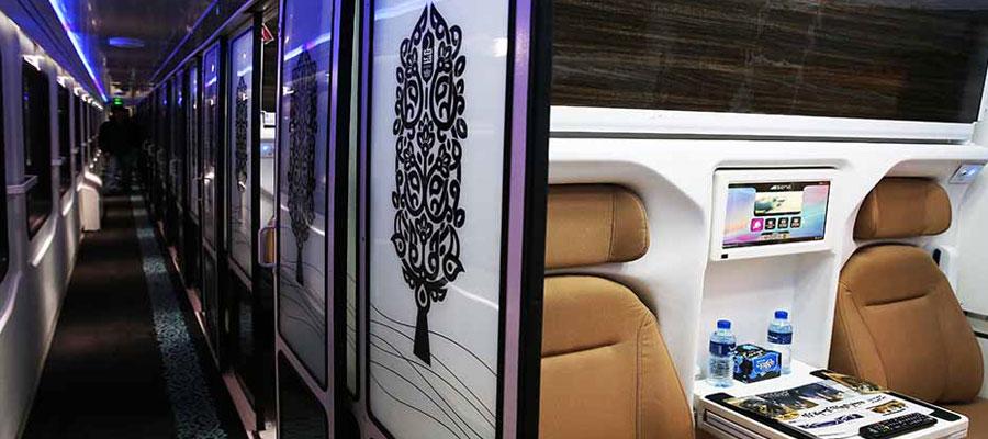 بلیط قطار تهران شیراز فدک