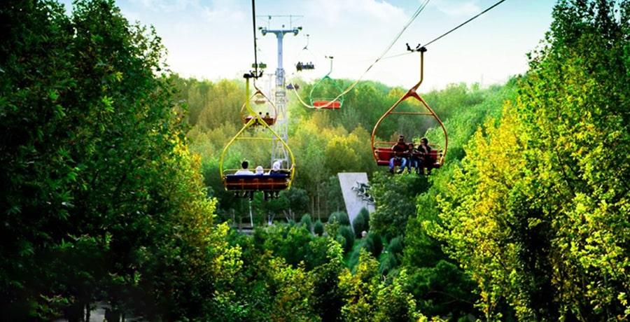 پارک ناژوان در اصفهان، یکی از مکان های تفریحی عالی در شهر