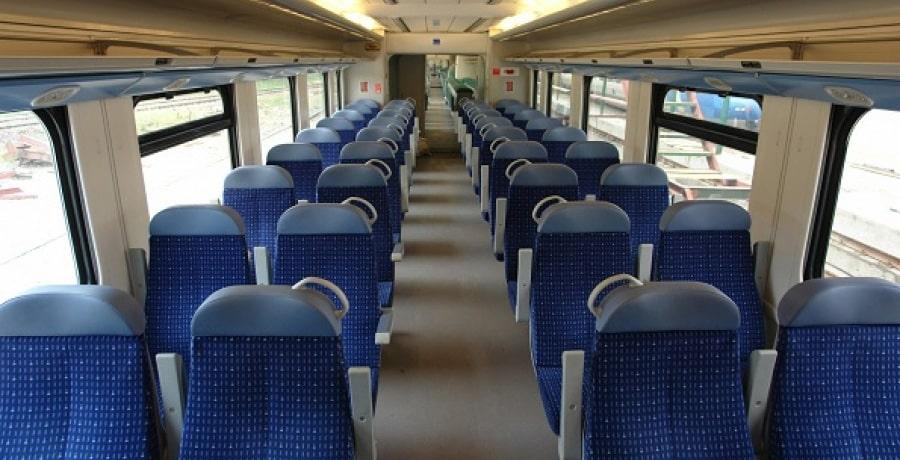 تصویری از فضای داخلی قطار پردیس