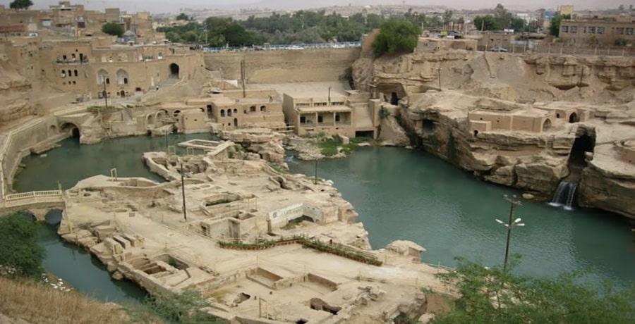 سازه های آبی شوشتر، شگرف ترین تونل های آبی جهان در آثار باستانی یونسکو