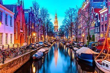 راهنمای سفر به هلند، شهر امپراتوری هابسبورگ