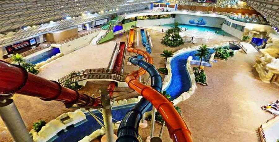 پارک آبی و مجموعه استخر آبسار اصفهان