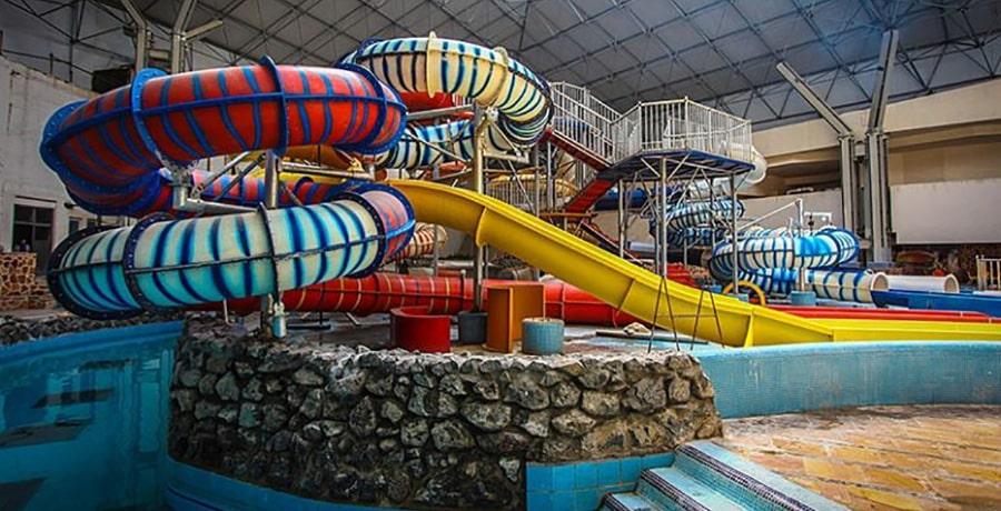 پارک ساحلی آفتاب، بزرگترین پارک آبی طبقاتی دنیا!