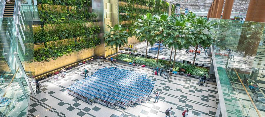 فرودگاه چانگی سنگاپور - بهترین فرودگاه های جهان
