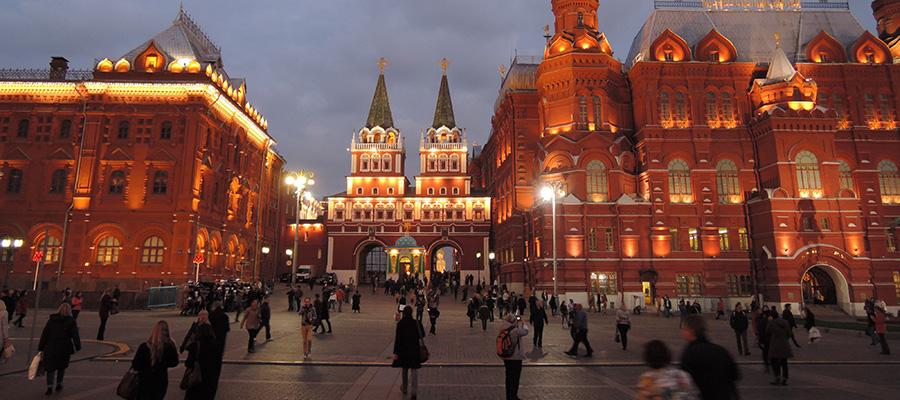 مهمترین جاذبه های گردشگری روسیه