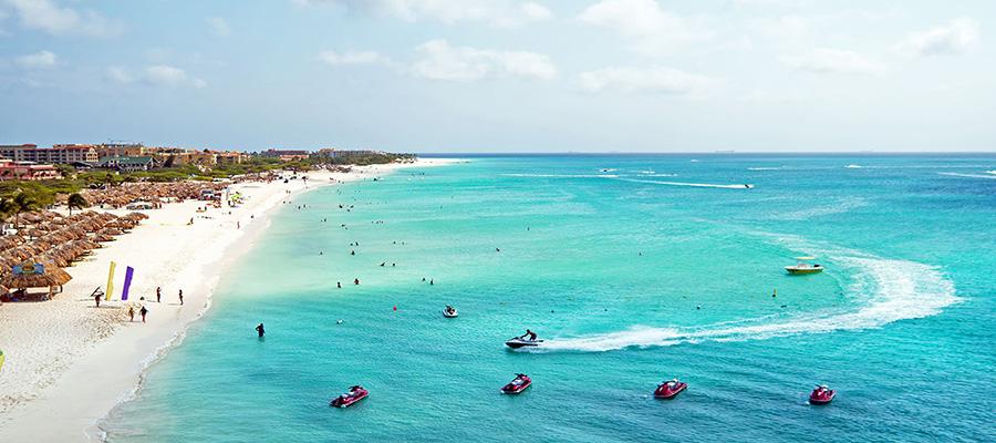 ساحل ایگل در جزیره آروبا