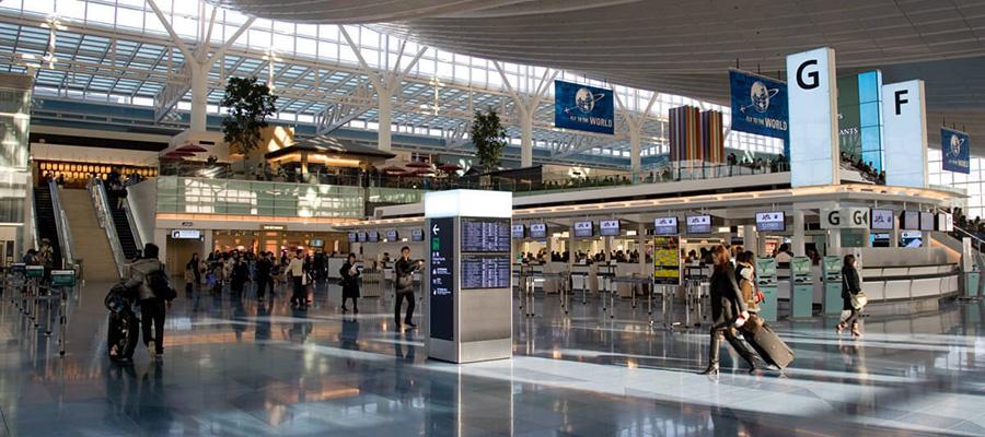 بهترین فرودگاه ژاپن و از بهترین های دنیا
