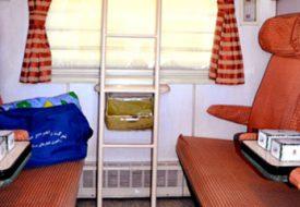 امکانات و خدمات قطار غزال در داخل کوپه