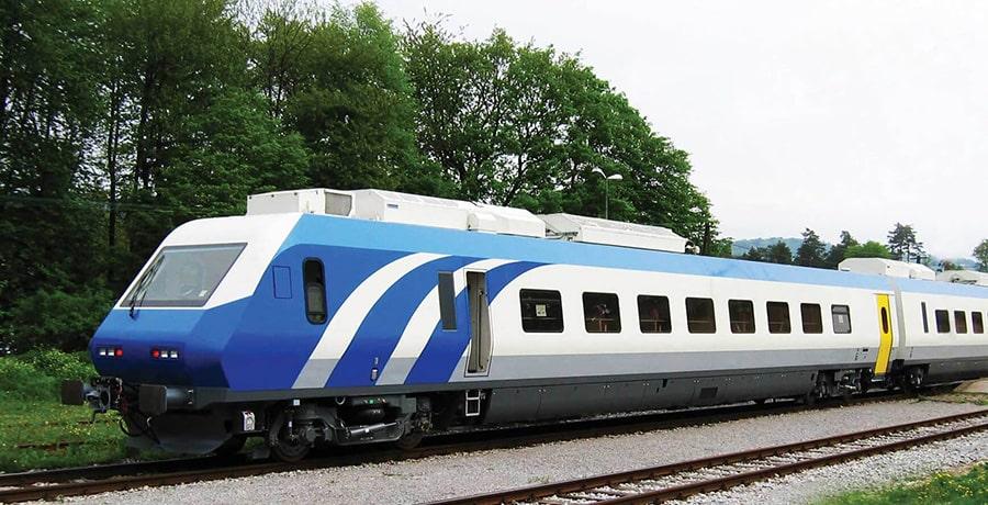 تصویری از قطار پردیس