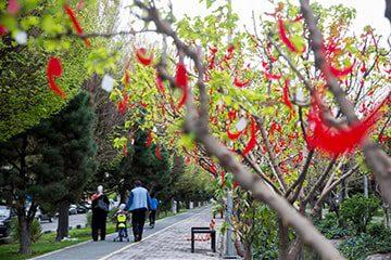 تعطیلات عید نوروز در تهران