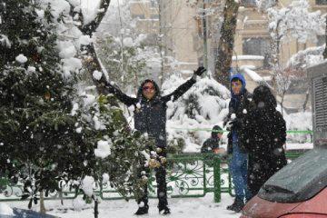 بهترین جای تهران برای برف بازی