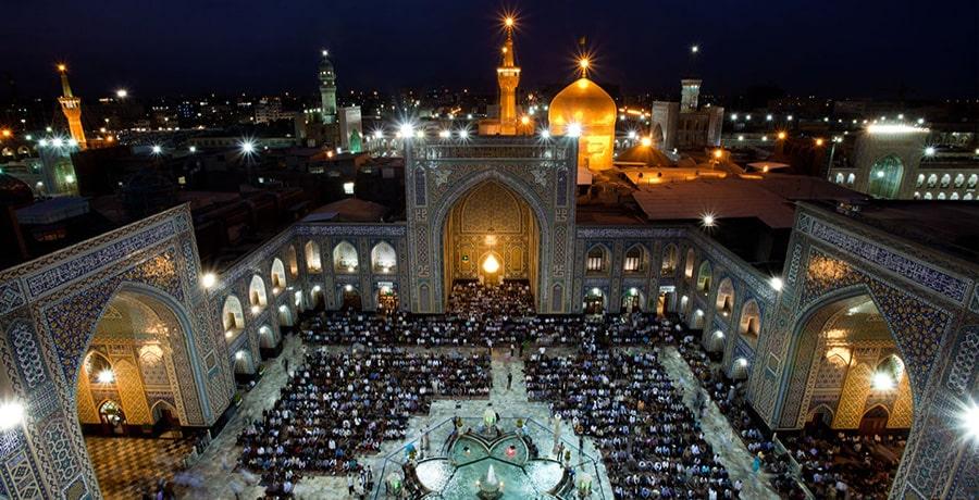 سفر به مشهد از اصفهان
