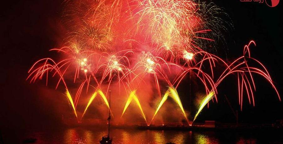 جشنواره آتش بازی کانادا، یکی از شادترین رویدادهای سال
