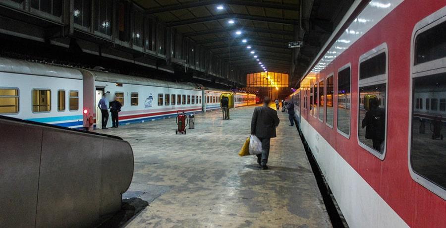 تصاویر قطار 4 تخته البرز