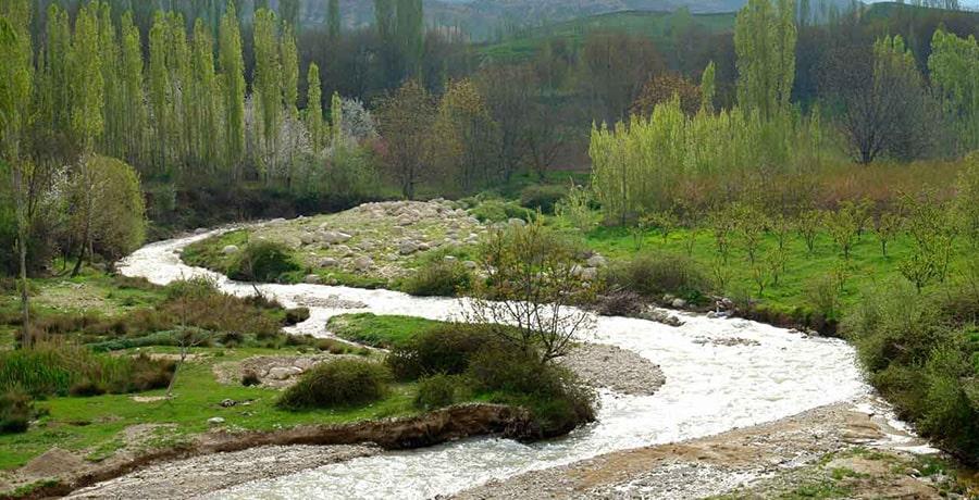 روستای ناشناخته درکش، داروخانه سرسبز ایران
