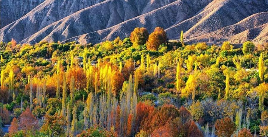 روستای سیرچ کرمان روستایی سرسبز در قلب کویر