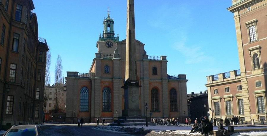 تصویری از کلیسای جامع استکهلم