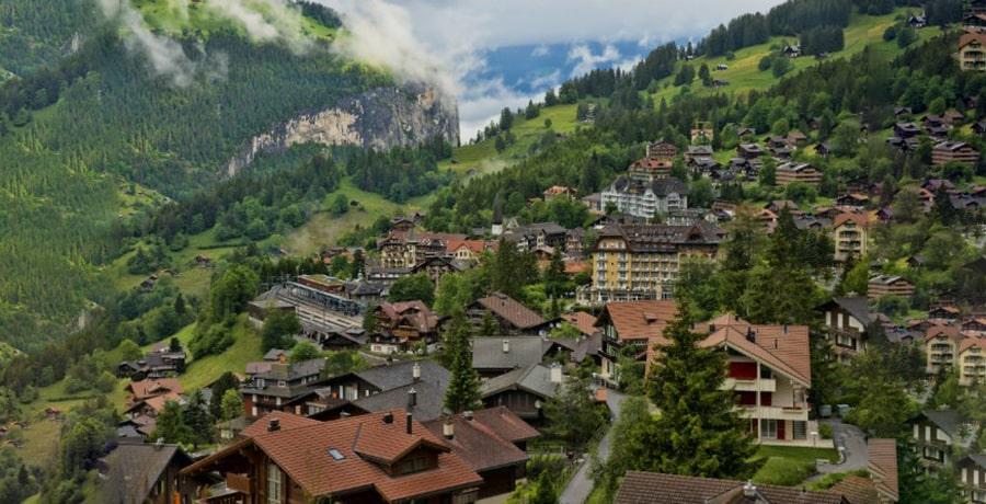 ونگن بهترین روستاهای دنیا