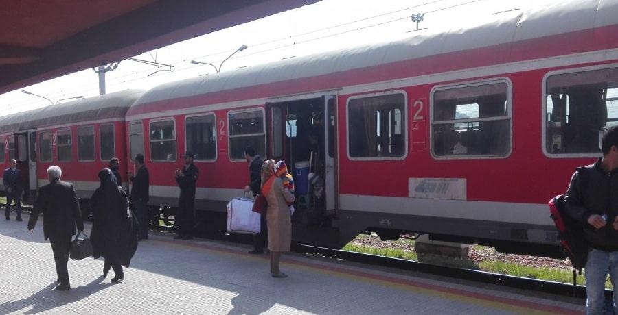 خدمات و امکانات قطار سهند