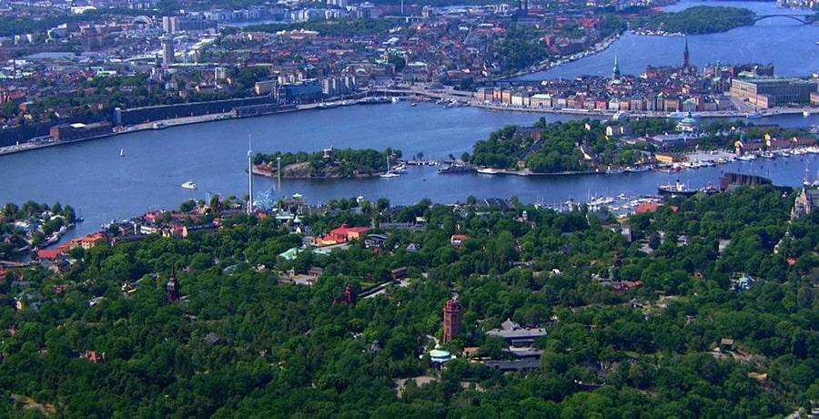 جزیره Djurgården، بهترین منطقه شهر استکهلم