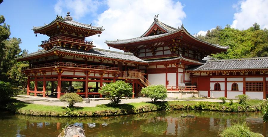 تصویری از معبد بیدو-این در ژاپن