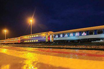 مسیر قطار تهران اهواز