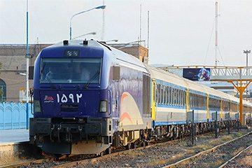 قطار میلاد رجا