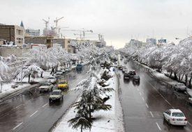 مکان های دیدنی مشهد در زمستان