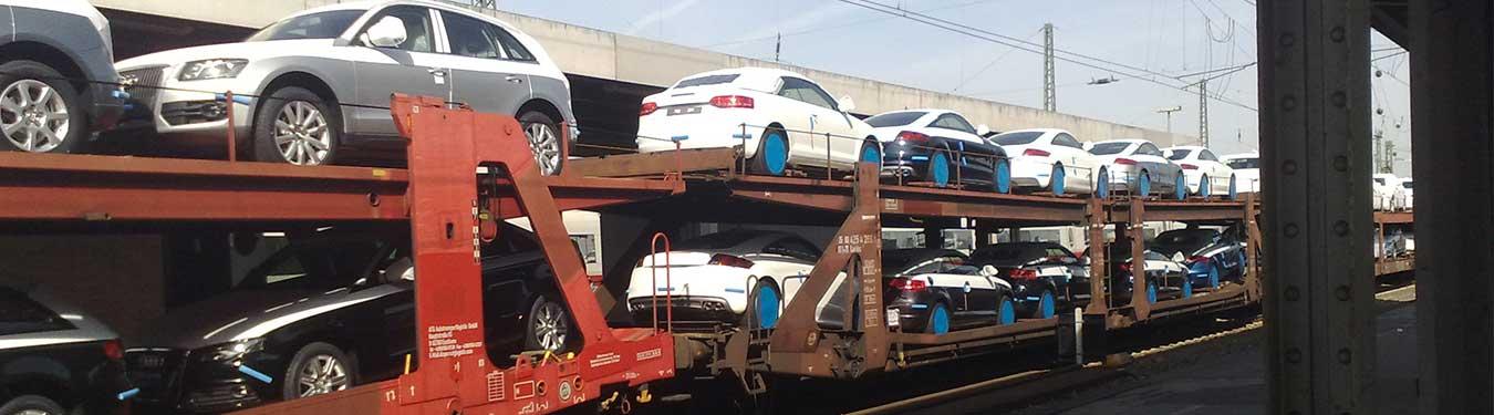 حمل ماشین با قطارهای شرکت رجا
