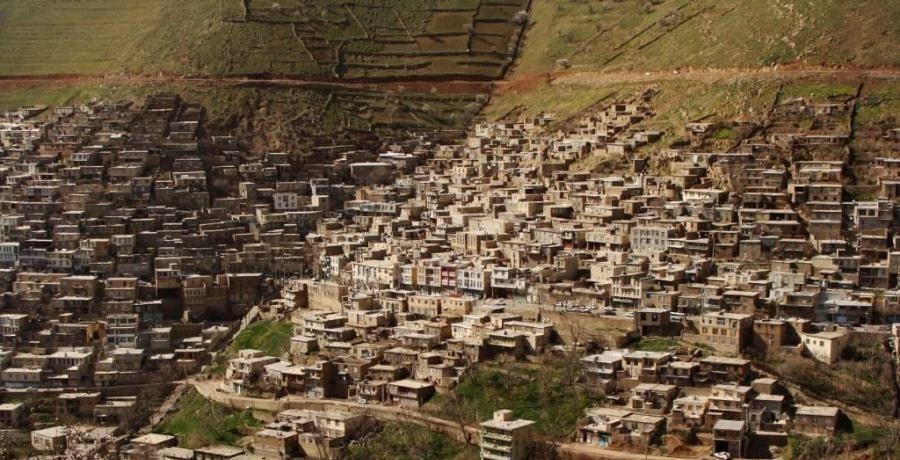 روستای اوراما تخت در کردستان