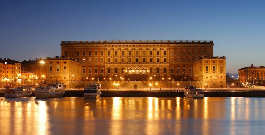 کاخ پادشاهی استکهلم در کشور سوئد