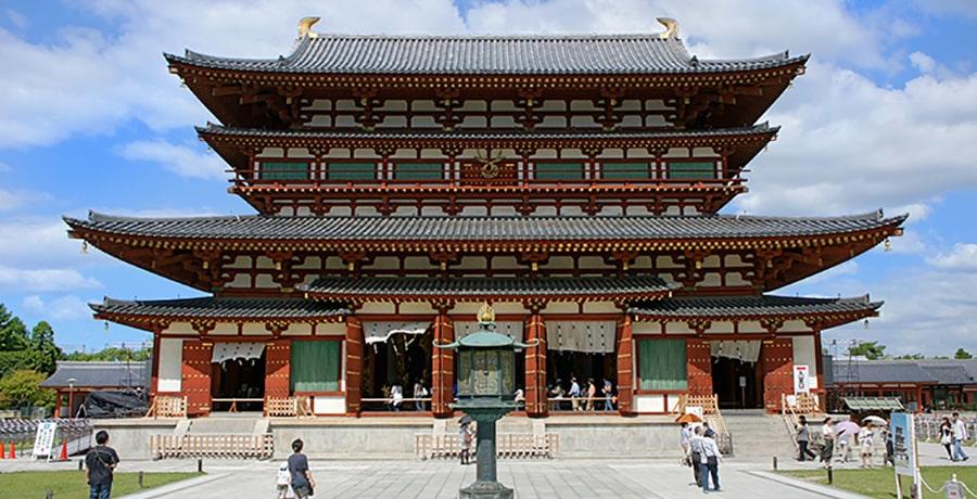 معبد یاکوشیجی در فهرست آثار دیدنی ژاپن