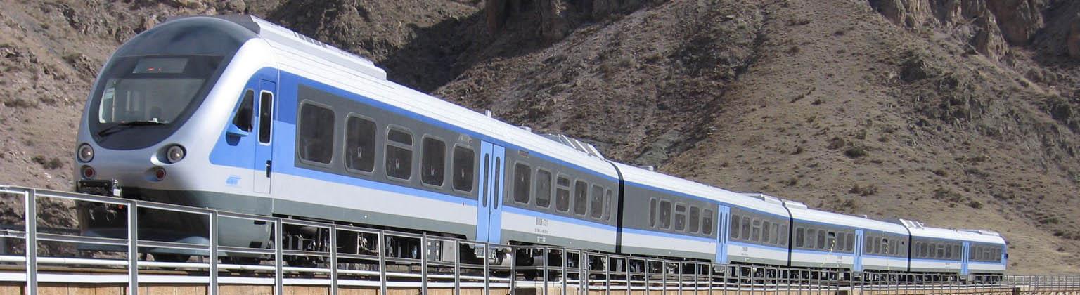 مسیر قطار مشهد تبریز