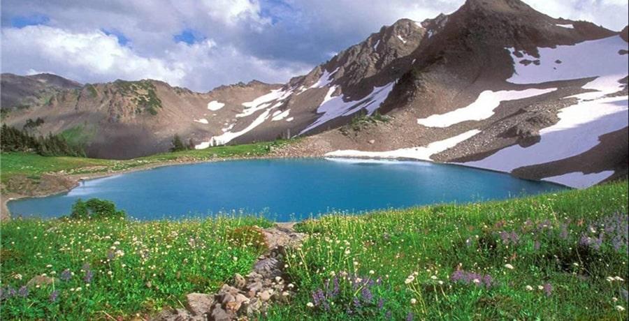 چشمه کوه گل دنا، بکرترین منطقه گردشگری در تابستان!