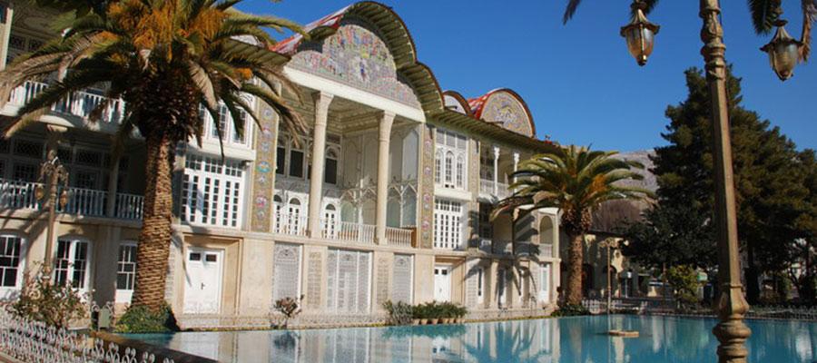 باغ ارم شیراز جاذبه گردشگری