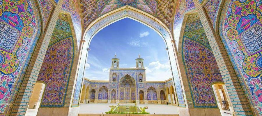 مسجد صورتی (نصیرالملک) شیراز