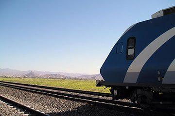 مسیر قطار مشهد بندرعباس و بالعکس