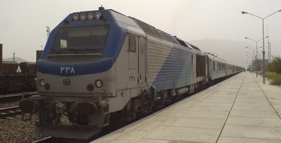 مسیر قطار مشهد بندرعباس
