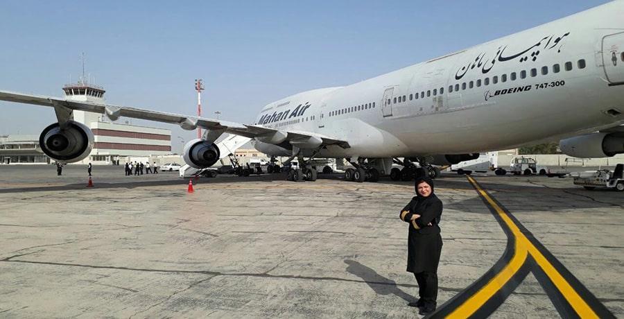 پرواز تهران مشهد ماهان